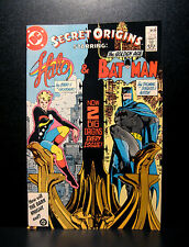 COMICS: DC: Secret Origins #6 (1980s), Batman/Halo  - RARE (figure/superman)