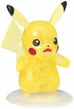BEVERLY Crystal Puzzle 3D Pokemon XY Pikachu 29 pieces New Japan