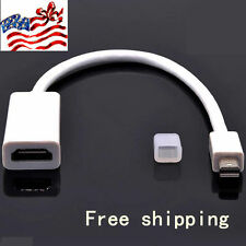 Mini Display Port DP Male to HDMI Femal Cable Adapter for MAC Macbook AIR PRO EA