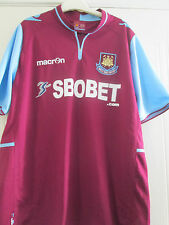West Ham 2012-2013 Home Football Shirt Size Adult Large /40421