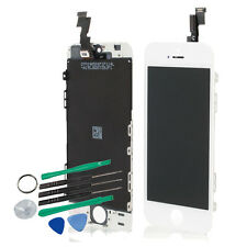 White Glass Touch Screen Digitizer + LCD Display Assembly for iPhone 5S Part