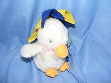 Russ Berrie weiße Ente mit Regenschirm 2097