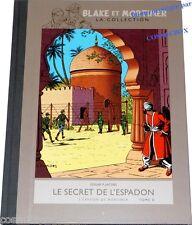 Tirage luxe BLAKE et MORTIMER le SECRET de l'ESPADON tome 2 l'EVASION toilé