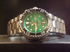 Deep Blue Sun Diver 1K Automatic Green Dial Sapphire Crystal Watch
