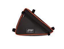 PRP Seats Triangle Storage Bag Vinyl Black / Orange YXZ 1000R UTV Universal Fit