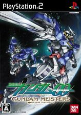 Used PS2 Mobile Suit Gundam 00: Gundam Meisters   Japan Import (Free Shipping)