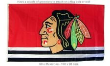 NEW Great Chicago Blackhawks Flag Hockey NHL 3x5 ft Tommy Hawk Banner National