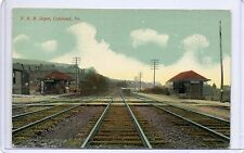 P.R.R. DEPOT,COPELAND STATION-(BRADDOCK / N. BRADDOCK),PA 1912