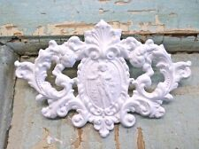 SHABBY & CHIC FLORAL CREST * FURNITURE APPLIQUES @ FREE SHIPPING