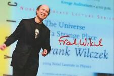Frank Wilczek Signed 4x6 Photo Nobel Prize Winner