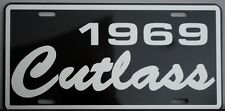 1969 69 OLDS OLDSMOBILE CUTLASS METAL LICENSE PLATE F-85 S 442 350 400 455 HURST