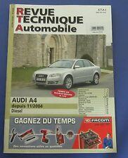 Revue technique RTA 695 Audi A4 depuis 11/2004 diesel