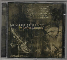 GRUNTSPLATTER - the aberrant laboratory CD