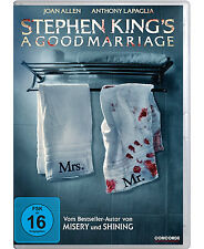 DVD * STEPHEN KING ' S  A GOOD MARRIAGE # NEU OVP $
