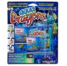 Aqua Dragons Sea Monkeys Food & Eggs Pet Refill Kit Brine Shirmp