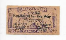 Philippines Emergency Currency Cagayan 10 Centavos Nice - # 50863
