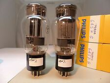 Matched pair RCA estados unidos 6as7g tubes = 6н13с 6as7 6н5с a1834 a4475 cv252 tubo nos