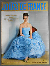 ►JDF 378-1962-PRINCESSE MARIE-GABRIELLE-MARINA VLADI-DANY SAVAL-FERRERO-SOREL...