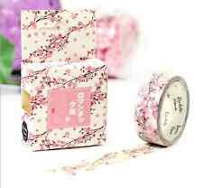 NEW Design 15mm×7M DIY paper Sticky Adhesive Sticker Decorative Washi Tape  / !!