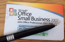 MICROSOFT Office 2007 Small Business Product Key Card