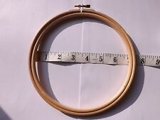 Round Wooden Hoop/Ring ideal for Embroidery Cross Stitch Sewing 7 inch