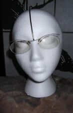 Theo 'eye-witness brainwear' FK-3 TITANIUM Gray Eyeglasses * EXTREMELY RARE *