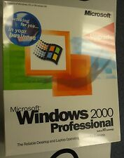 New Microsoft Windows 2000 Professional Upgrade