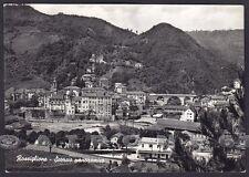 GENOVA ROSSIGLIONE 06 Cartolina FOTOGRAFICA viaggiata 1959