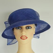 Ladies Wedding Hat Races Mother Bride Ascot Violet Forget Me Not Anne Hanna