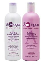 ApHogee Two Step Protein Treatment 473ml with Balancing Moisturizer 473ml Offer