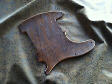 Hand Tooled/Carved Custom Leather Pickguard fits Fender Telecaster Tele Esquire