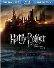 HARRY POTTER AND THE DEATHLY HOLLOWS: Part 2 (Blu-ray/DVD, 2011, 4-Disc Set) NEW
