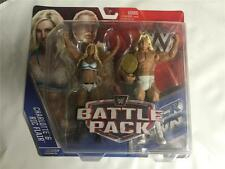 RIC FLAIR & CHARLOTTE WWE MATTEL BATTLE PACK SERIES 41 2 PACK FIGURE - MINT