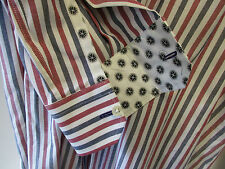 "Paul Smith RED WHITE & BLUE Slim Fit Shirt ""LONDON"" 16"" Eu41 RRP £159"