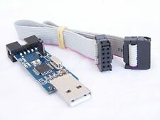 USBASP AVR 8051 Programmer with 10 pin cable USB ATMEGA8 Arduino KK Board Prog