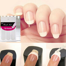 FD1130 Manicures Nail Art Form Fringe Striping DIY French Stickers ~1Pack 48PCs~