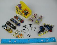 Mixed Lot Of Skateboards Tech Deck Finger Skate Boards & others Tools Wheels