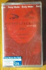 Michael Jackson Invincible  Red Cover Thai  Cassette Seal OOP 3 USD SHIPPING