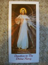 NEW Devotion to the Divine Mercy Jesus I Trust in You Marian Press Pamphlet God