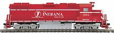 MTH 85-2023-1, HO, GP38-2 Diesel With Proto-Sound 3.0 - Indiana Railroad #3802