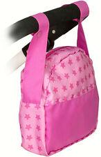Bayer Chic 2000 Wickeltasche für Puppenwagen Sternchen Pink Puppenwickeltasche