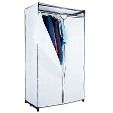 "Trademark Home Portable Closet - White - Easy to Assemble - 69"" x 19"" x 36"""