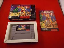 Dragon's Lair (Super Nintendo SNES 1992) COMPLETE Box manual game WORKS! Dragons