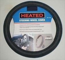 Heated 12 Volt Electric Steering Wheel Heater Cover for Auto Car