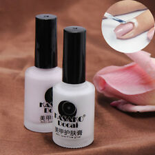 White Peel Off Liquid Tape Nail Polish Hedge Base Coat Palisade Latex 15ML
