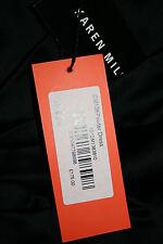 BNWT STUNNING KAREN MILLEN BLACK METALLIC EVENING PARTY DRESS SIZE 38 UK 10 £175