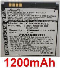 Batterie 1200mAh Für ASUS GARMIN Nüvifone A10 M10 M10E T20 361-00048-00, SBP-23