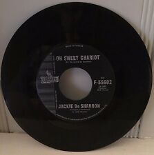 JACKIE DE SHANNON 45 Little Yellow Roses / Oh Sweet Chariot - VG
