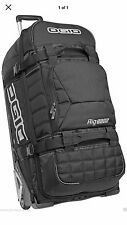 New Ogio 9800 Wheeled Rig Rolling Luggage Bag-Stealth Black MX Moto (269.99)