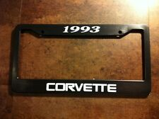 1993 CORVETTE license plate frame zr1 z06 stingray C4 40th Anniversary
